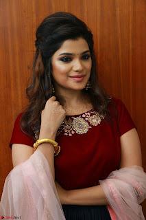 sexy aathmika tamil actress huge boobs in maroon velwet