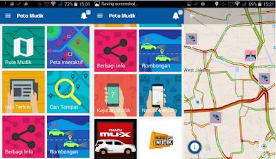 Aplikasi Peta Mudik Lebaran 2015 Android