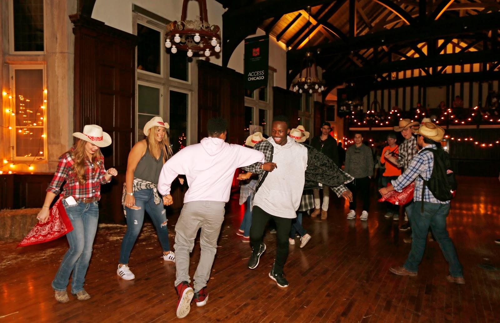 Mark Kodiak Ukena: Lake Forest College Barn Dance