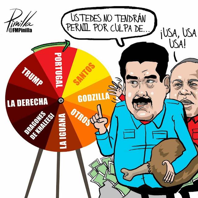 La trsita realidad Venezolana, a traves de lo asertado de Pinilla