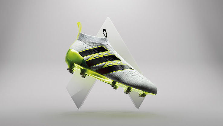White Adidas Ace 16+ PureControl 2016 Speed of Light Boots Released ... ee77e69f70