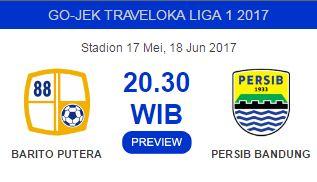 Prediksi Barito Putera vs Persib Bandung 18 Juni 2017
