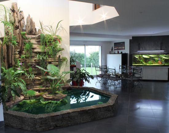50 Desain Kolam Ikan Indoor Pelengkap Hunian Idaman Rumahku Unik