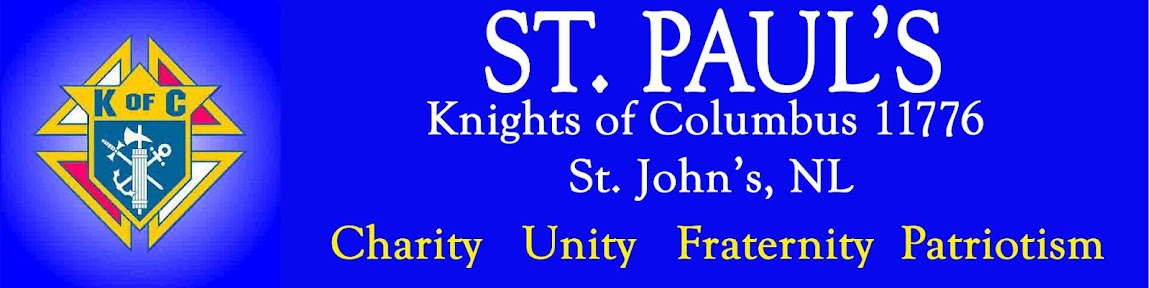 ST. PAUL'S KNIGHTS OF COLUMBUS