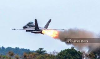 Flameout Hornet F/A-18
