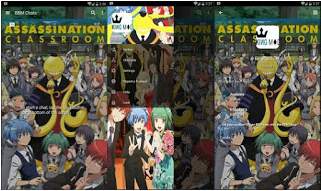 Download BBM Mod Anime Assasination Classrom Versi 3.0.1.25 Apk Android Terbaru