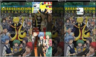Download BBM Mod Anime Assasination Classrom Versi 3.0.1.25 Apk Android Terbaru