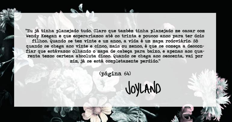 Joana leu: Joyland, Stephen King