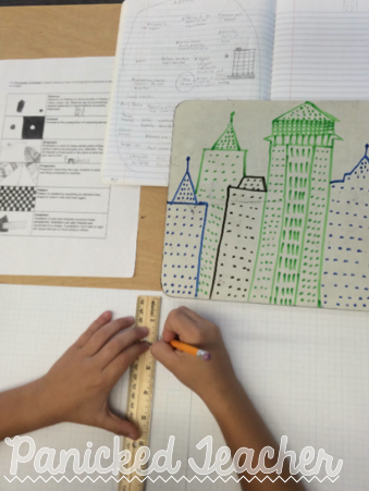 Drawing Buildings Lesson