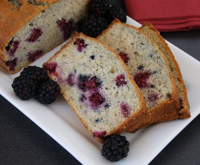 Blackberry-Almond Bread
