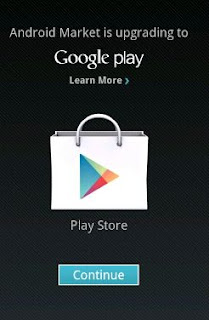 Perubahan Market Android menjadi Google play