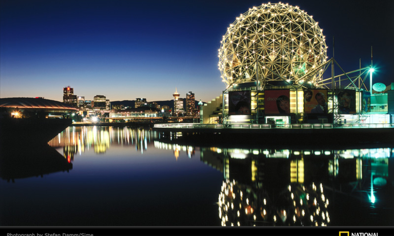 HD WALLPAPERS FOR DESKTOP: Science World- Vancouver BC, Canada