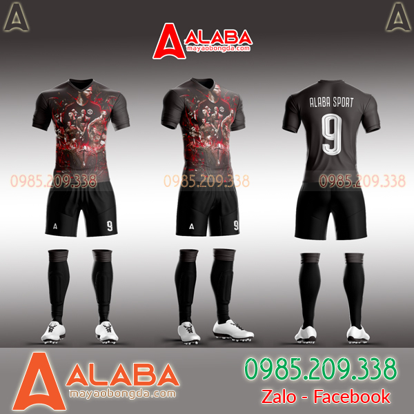 áo manchester united đen