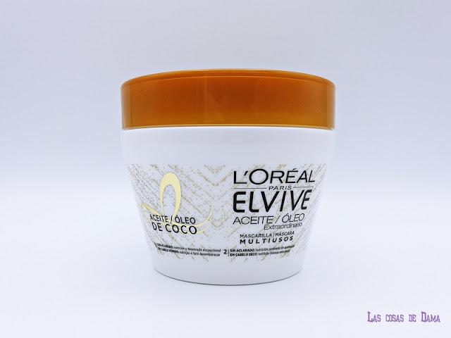 L'Oréal París Mascarilla Aceite de Coco Noche Día cabello cuidado capilar belleza beauty haircare