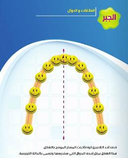 كتاب الوزارة فى الرياضيات للصف الثالث الاعدادى الترم الاول