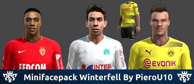 Mini Facepack Winterfell 2018 PES 2013