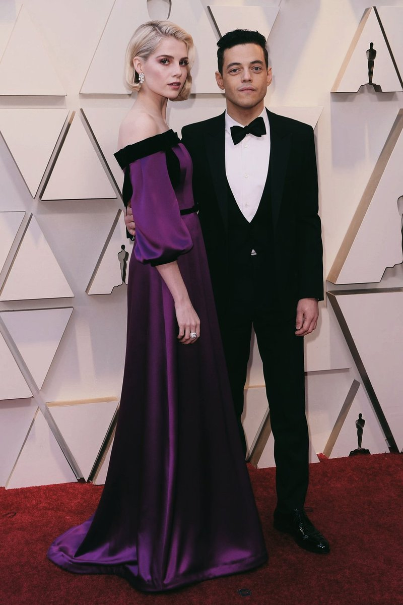 Rami Malek Surprised Everyone With His Oscars Date
