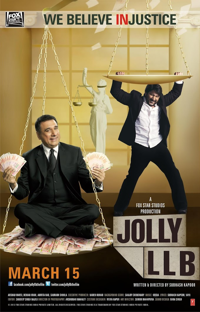 Jolly LLB 2013 Hindi 720p BRRip Full Movie Download 1GB