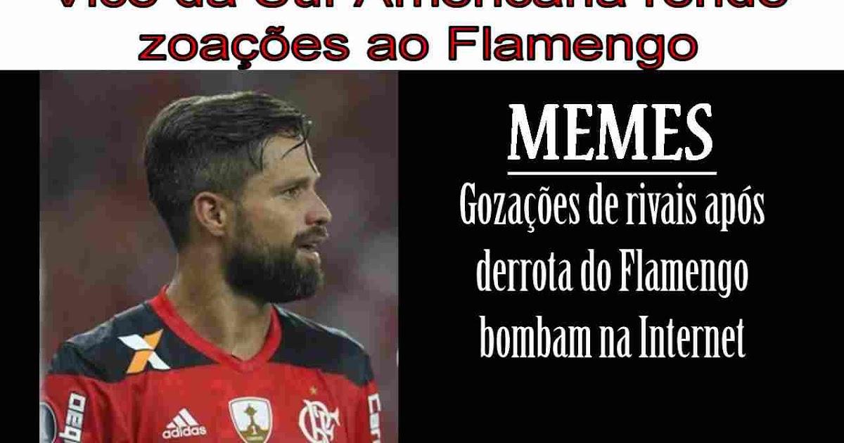 Memes zoando o Flamengo bombam na Internet.