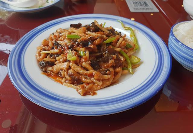 Pollo al estilo chino