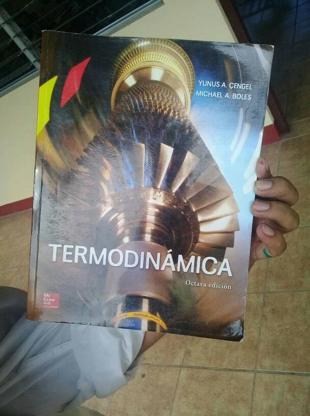 Libros De Ingenieria Mecanica Termodinamica Cengel 8va Edicion