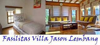 Fasilitas Villa Jason Lembang
