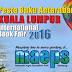Pemberitahuan : Pesta Buku Antarabangsa Kuala Lumpur 2016 📚