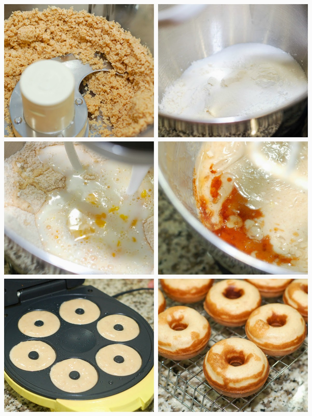 Making Root Beer Float Donuts by The Sweet Chick