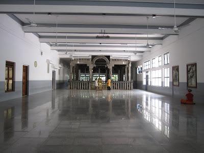 Ramana Maharshi Ashram Main Hall