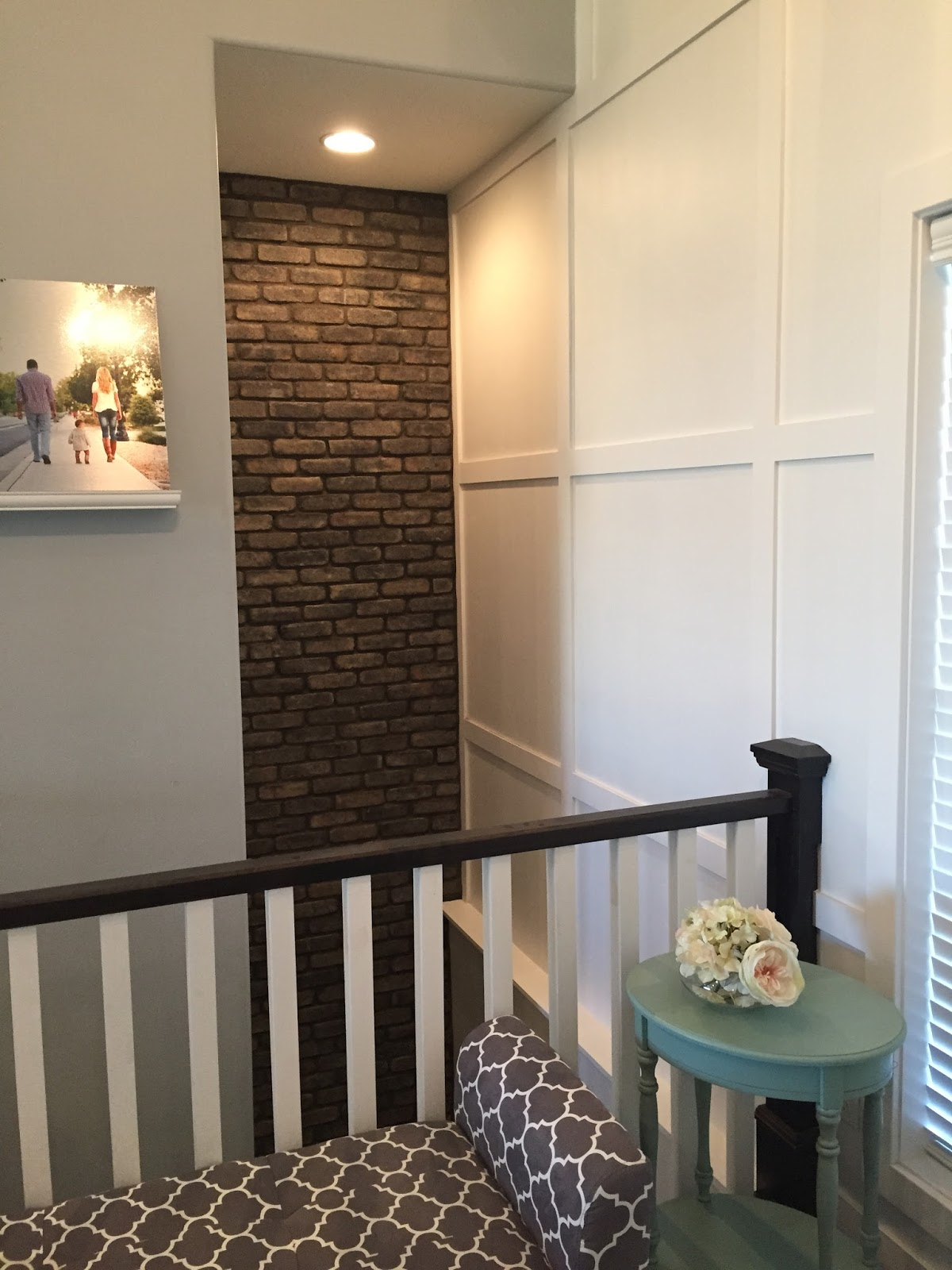 Accent Walls! Brick, Wallpaper, And Even Adhesives!
