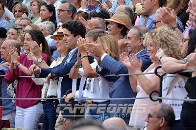 Infanta Elena Toros Aranjuez Juli Morante Pepe Luis