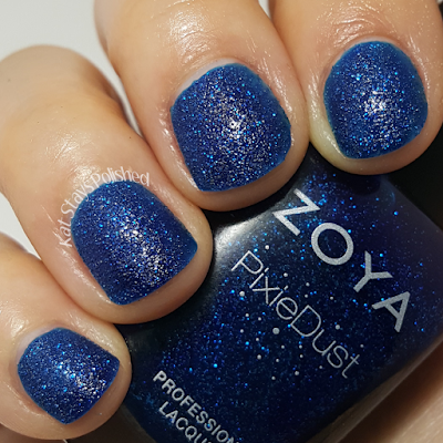 Zoya Enchanted Holiday 2016 - Waverly | Kat Stays Polished