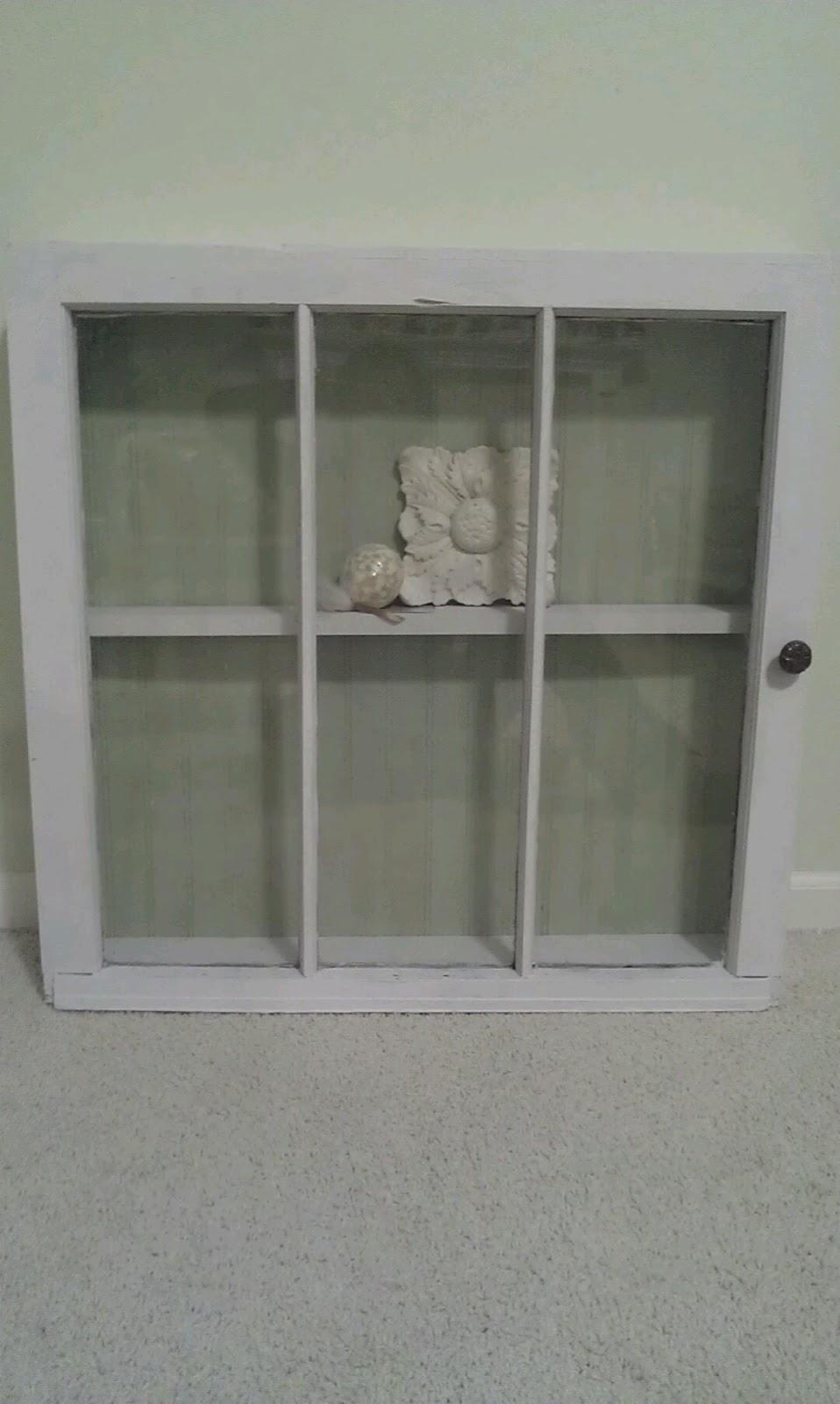 Thrifty Treasures Window Shadow Box