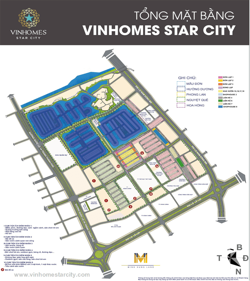 mat bang vinhomes star city