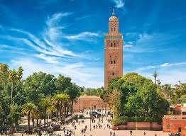 Where is the city of Marrakech