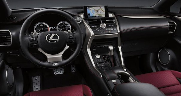 2018 Lexus NX Interior Preview