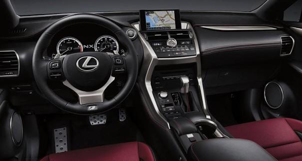 2018 Lexus NX Interior Preview