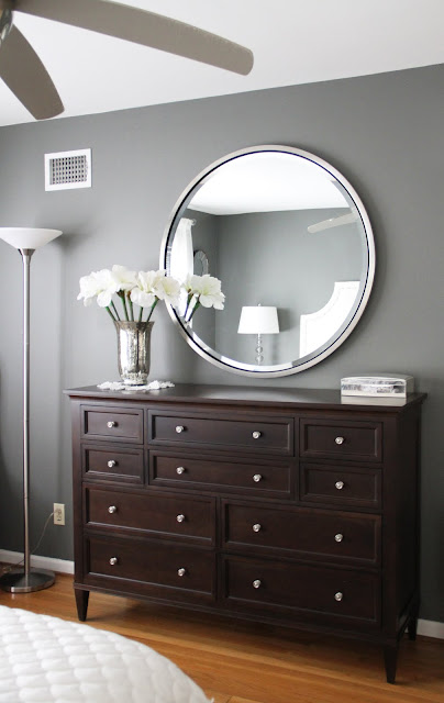 Ethan Allen's American Artisan collection dresser & mirror