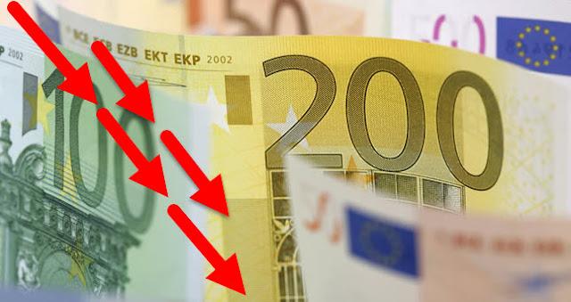 Por que baja el euro 2019