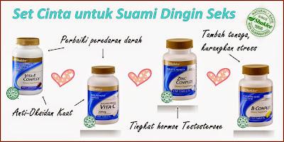 Set Vitamin dan Nutrisi untuk Suami Kurang Keinginan Seksual