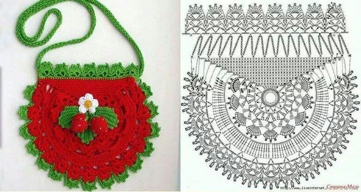 Bolso Circular de Crochet