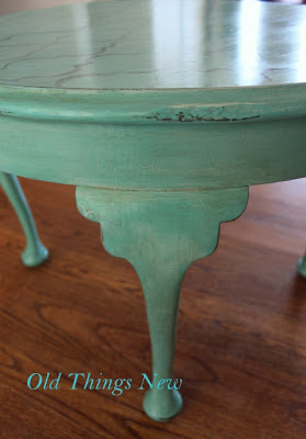 old things new a queen anne table rescue Chalk Paint for Furniture DIY Painting Furniture with Chalk Paint