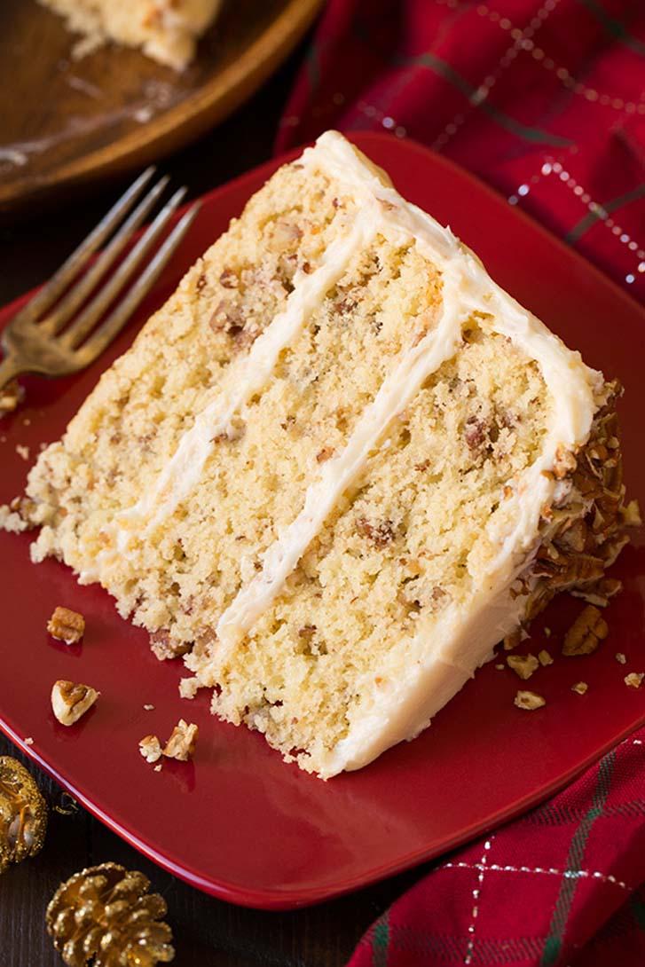 Butter Pecan Cake   Cake Magazine
