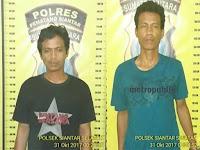 Dua Orang Pelaku Jambret Di Ringkus Polsek Siantar Selatan