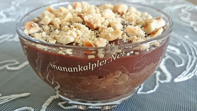 Kakaolu Elmalı Puding - www.inanankalpler.net
