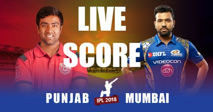 MI vs KXIP Live Score Cricket Streaming