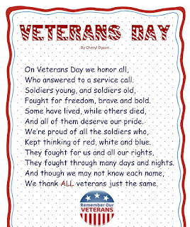 Happy Veterans Day Poems Readings