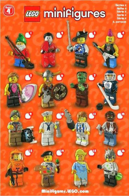 The Minifigure Collector Lego Minifigure Series 4 Rarity