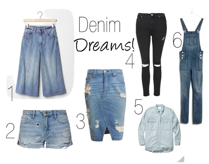 Spring denim trends 2015