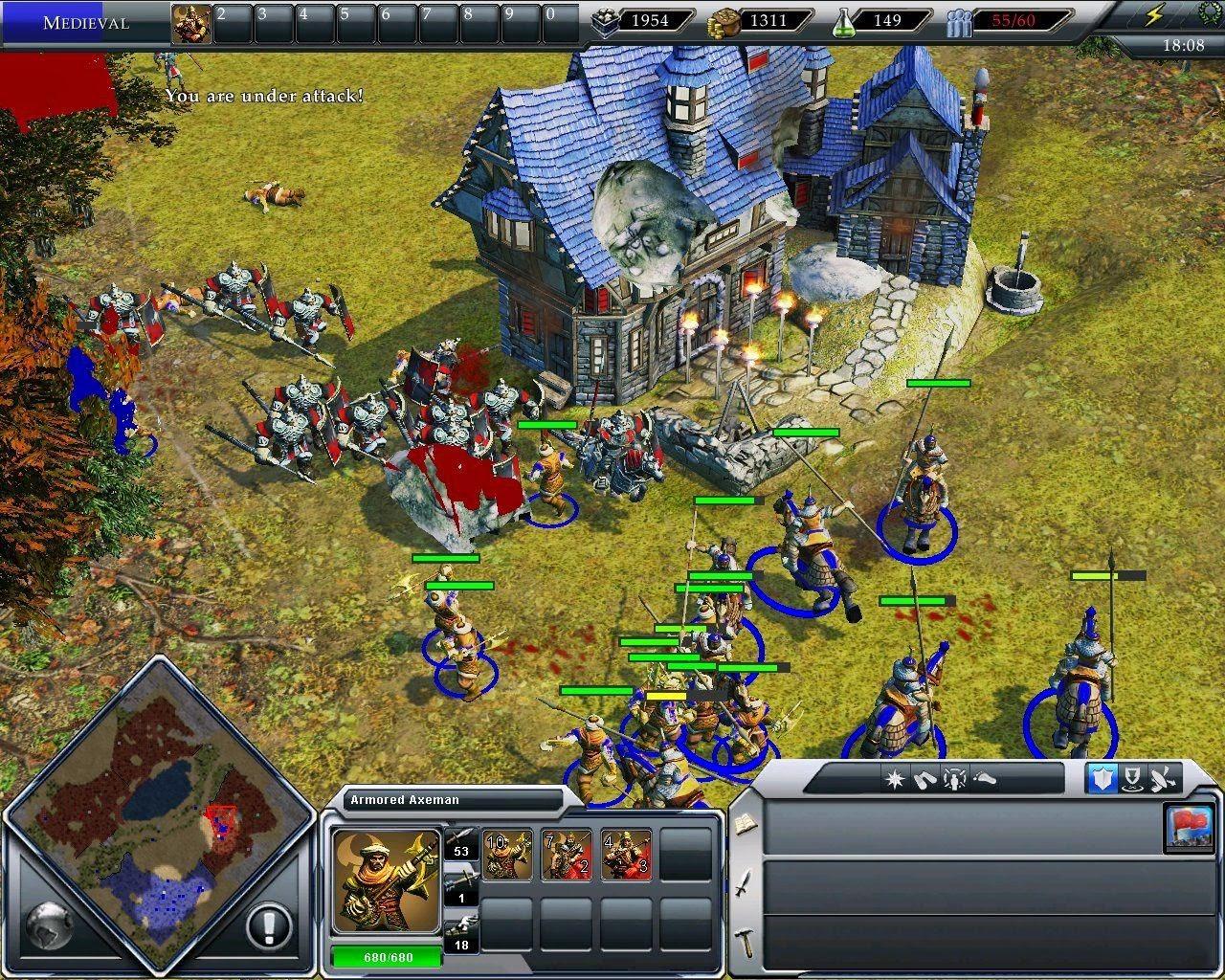 Empire Earth II: Gold Edition - Full Download (PC Windows